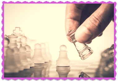 FAQ Competitive Business on Savvy Perks - Hand Moving Chess Piece