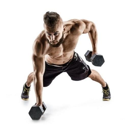 Man Lifting Weights, Savvy Perks