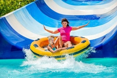 About Savvy Perks, Family at Water Park