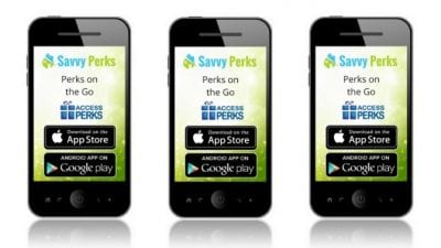 About Savvy Perks Phone App Apple and Android