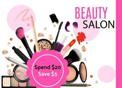 Beauty Salon Hair Care Coupon