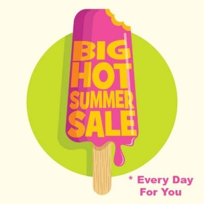 Big Hot Summer Sale - Create Your Own Discounts