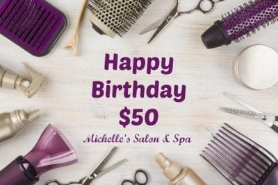 Hair Care Gift Certificate at Michelles