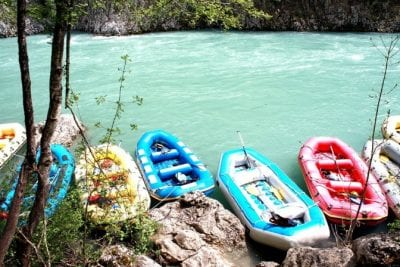 Multi Day whitewater rafting event