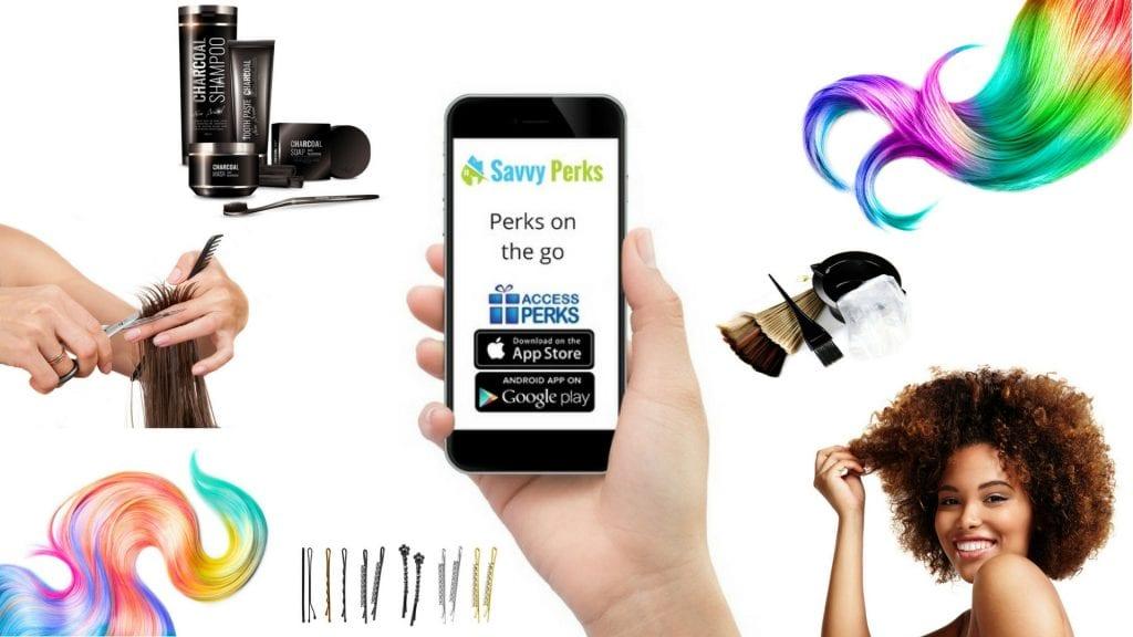 Savvy Perks Hair Care App