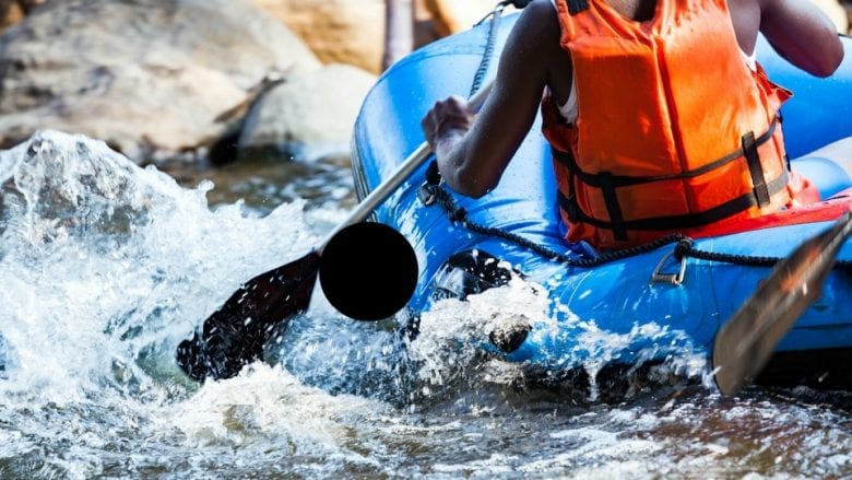 Whitewater Rafting with Savvy Perks Discounts