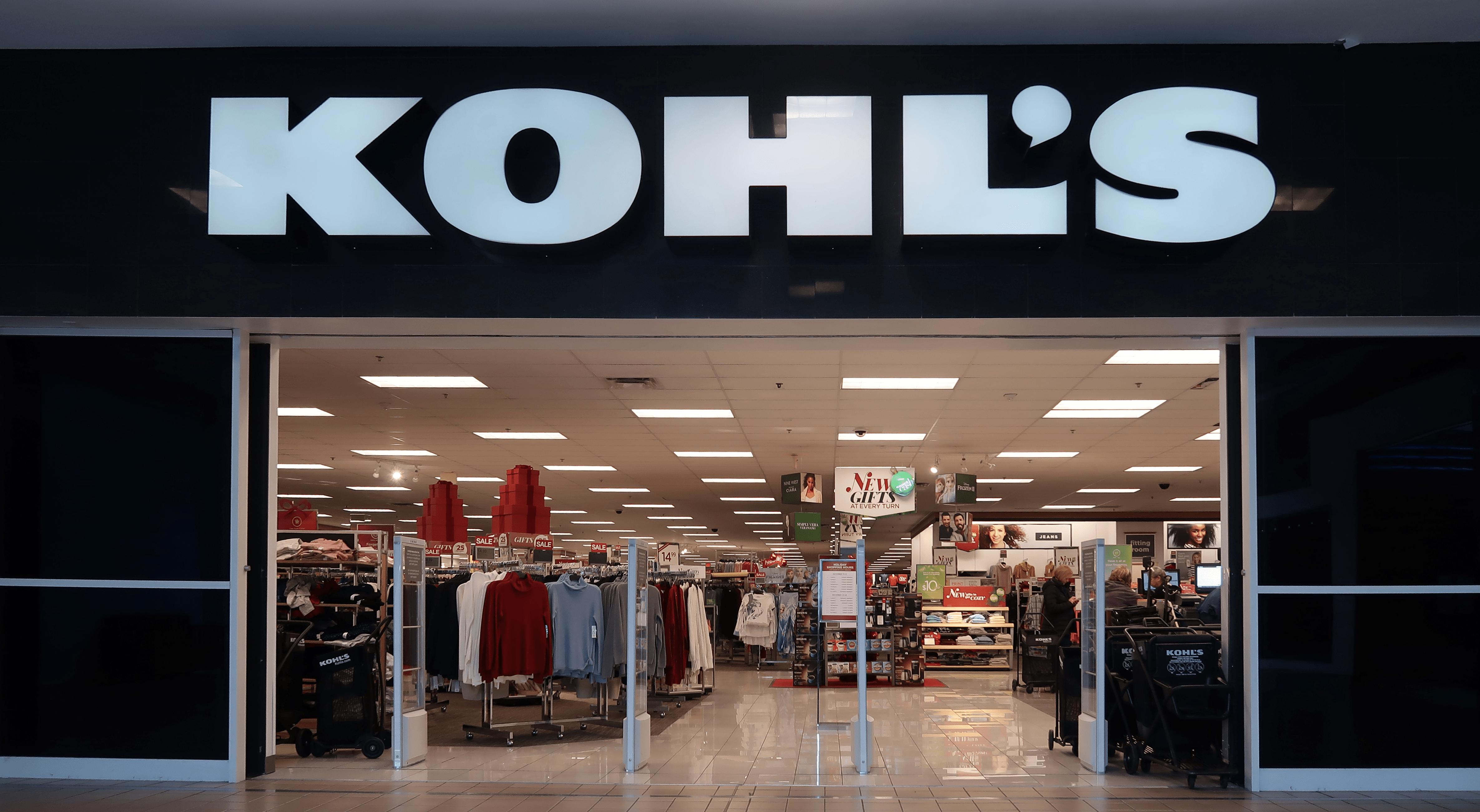 Kohl's, Storefront