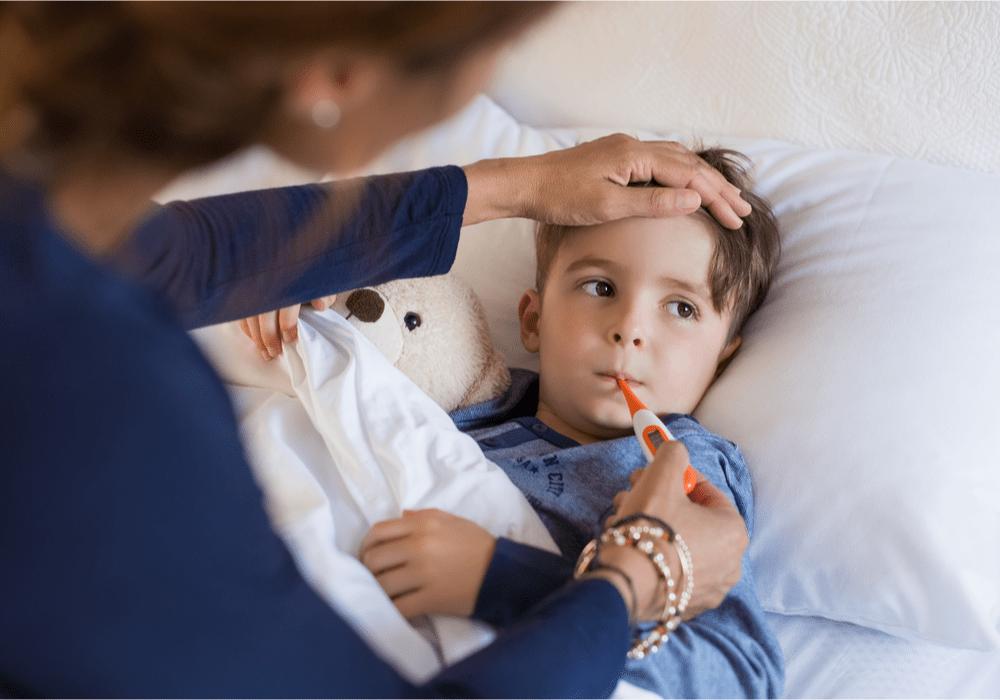 My Telemedicine, Sick Boy in Bed