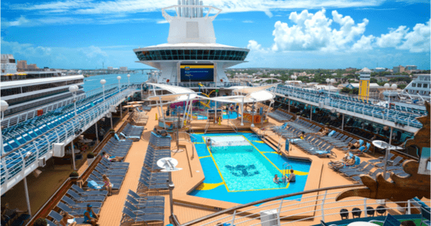 Royal Caribbean, Pool Deck