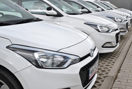 Valvoline Instant Oil Change, Company Cars