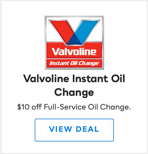 Valvoline Instant Oil Change, Savvy Perks