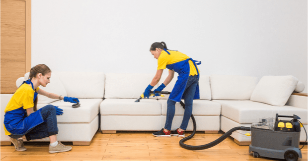 Anytime Fitness, House Cleaners Working