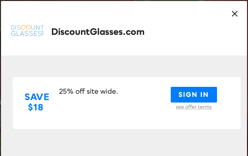 Discount Glasses, Savvy Perks