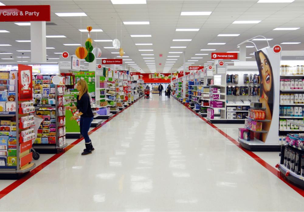 Target, Store Aisle