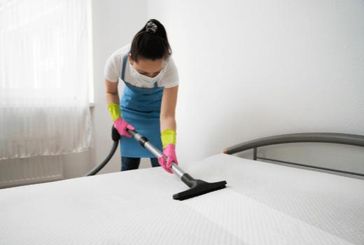 Antiseptic Wipes, Vacuuming
