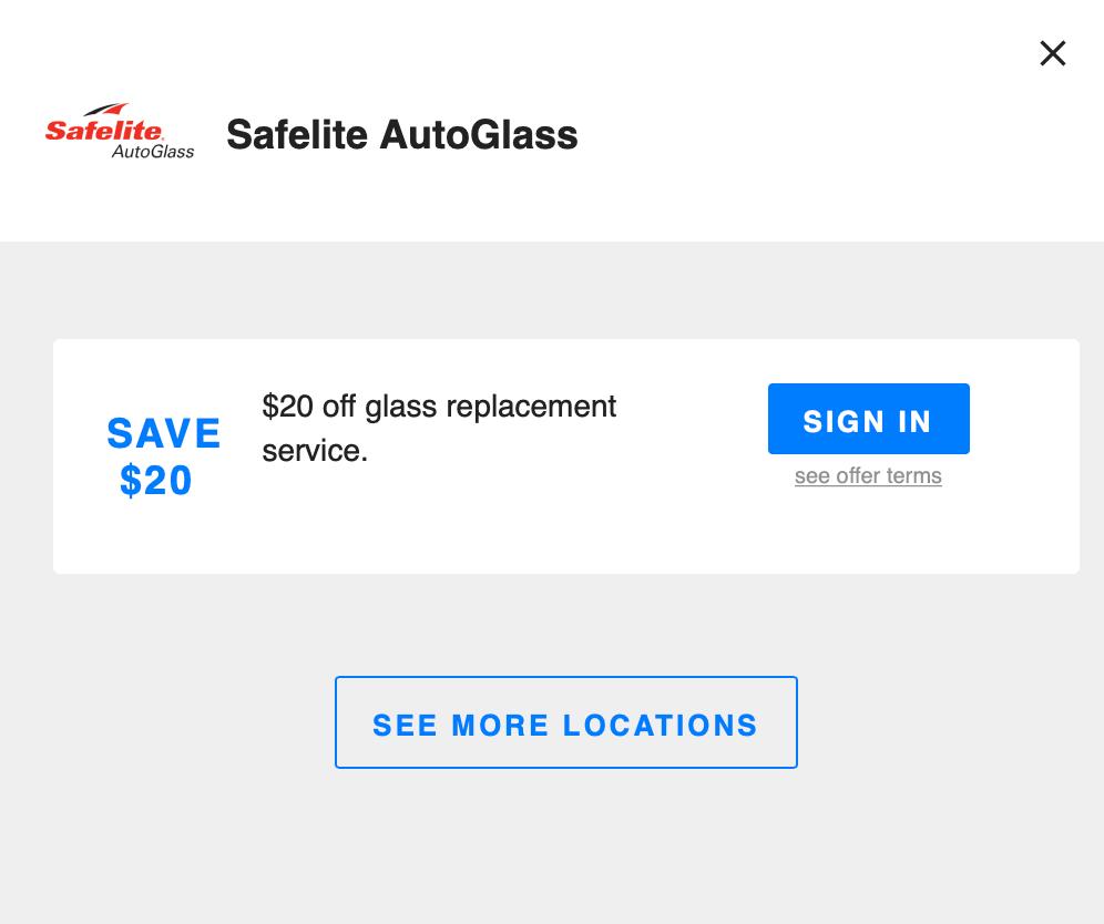 Safelite Autoglass, Savvy Perks
