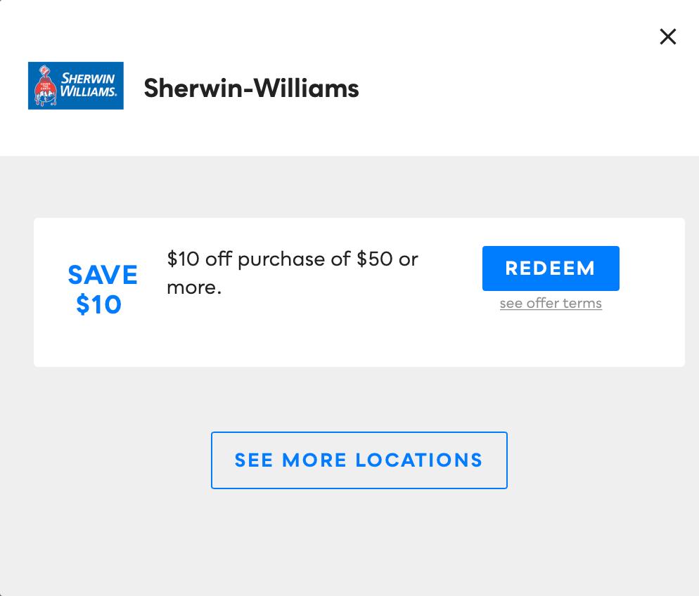 Sherwin-Williams, Savvy Perks