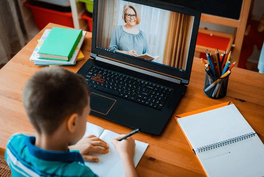 Best Buy, Kid Doing Online School