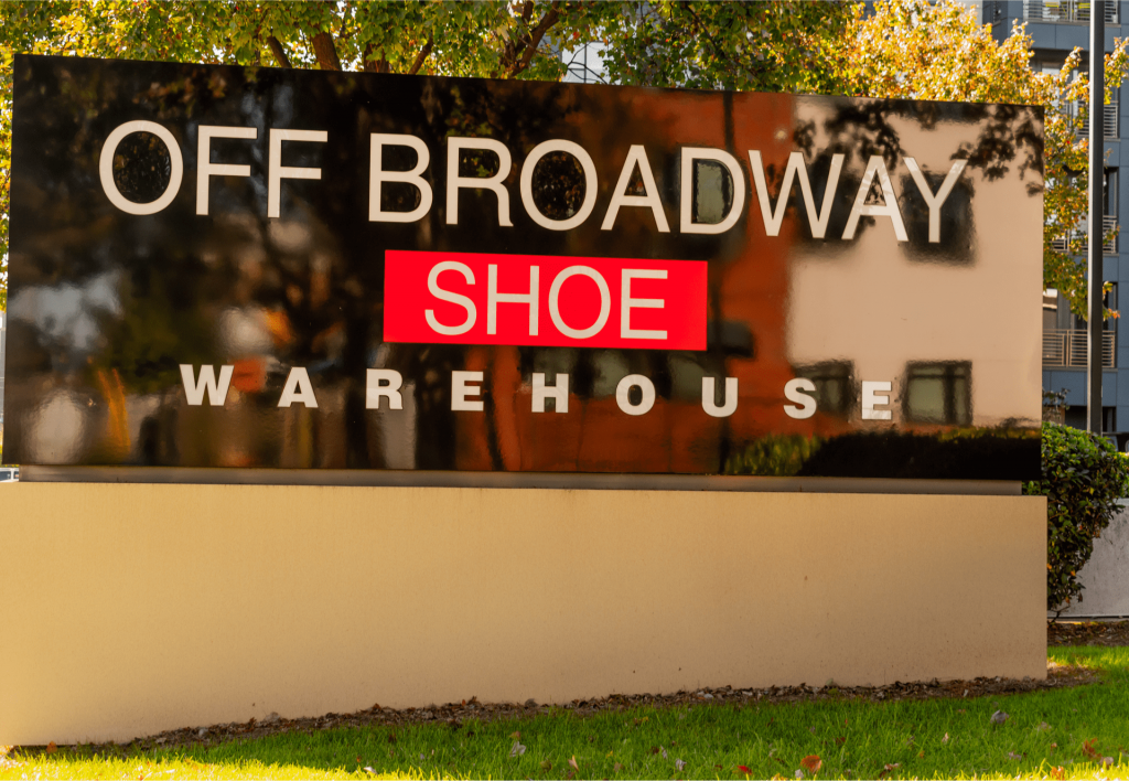 Off Broadway Shoes, Featured Image