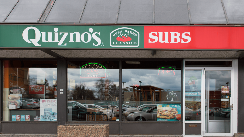 Quiznos, Featured Image