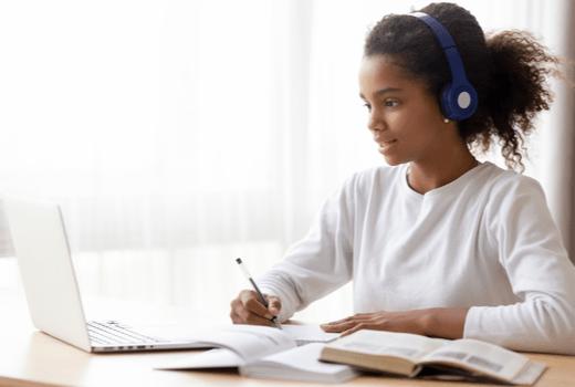 Adventure Academy, Girl With Headphones