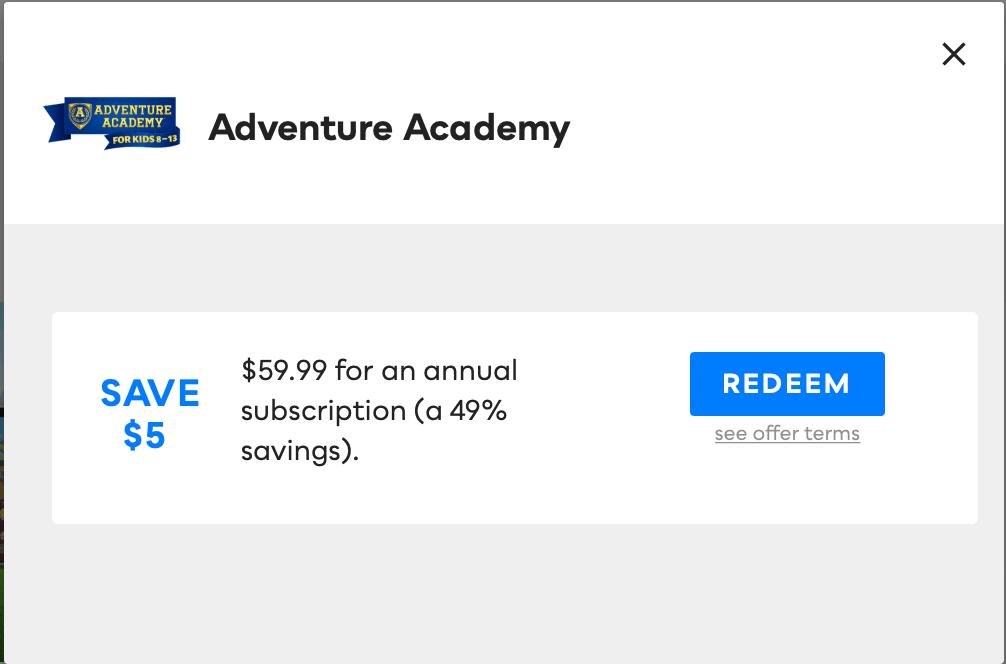 Adventure Academy, Savvy Perks
