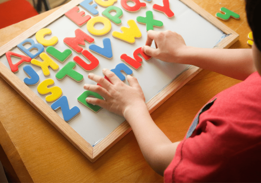 Best Brains Learning Centers Kid Learning Letters