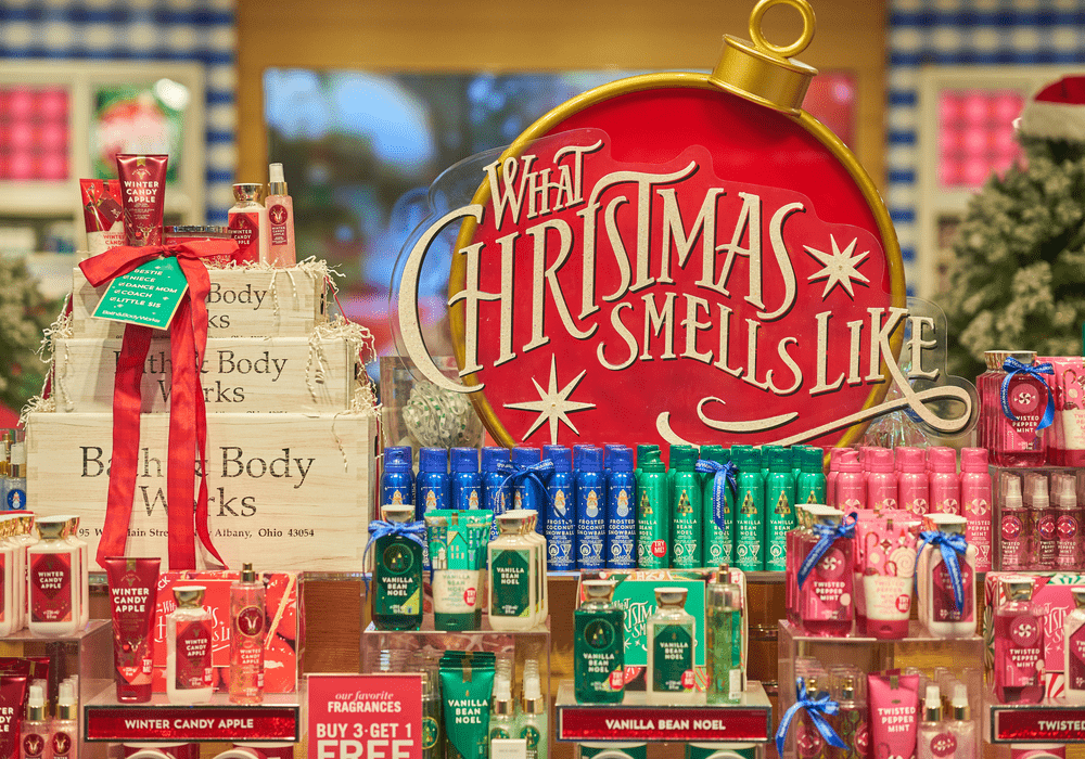 Bath and Body Works Christmas Scents