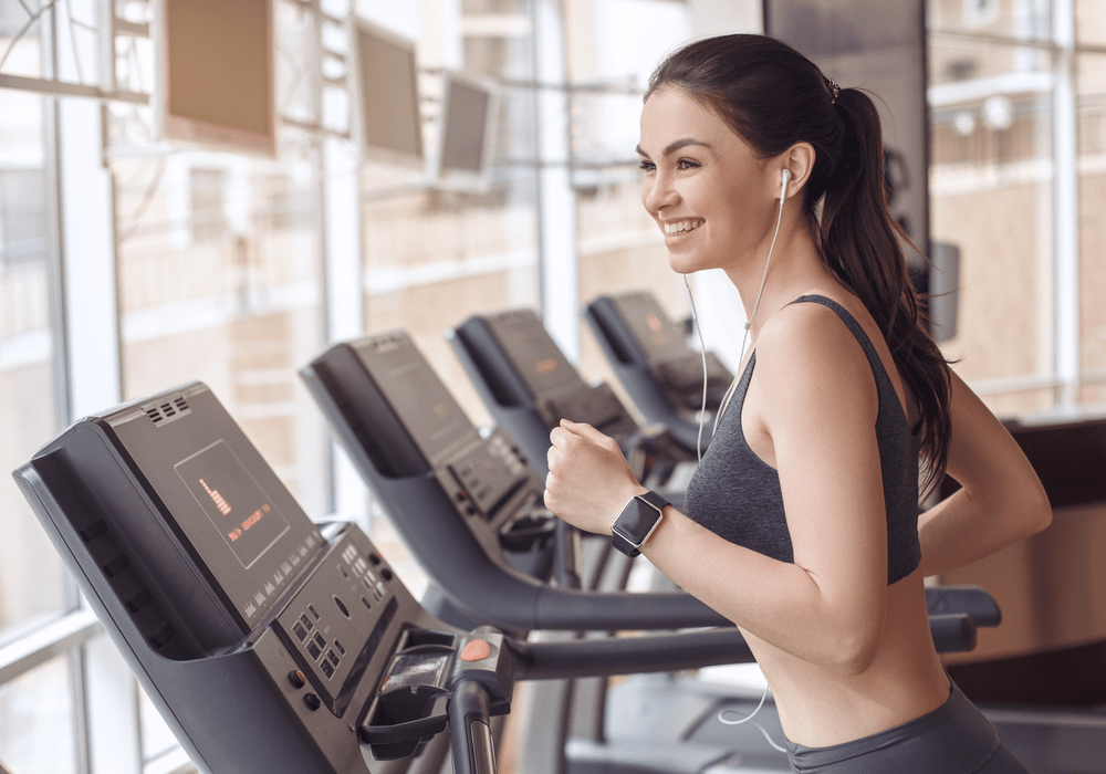 LA Fitness Woman at Gym