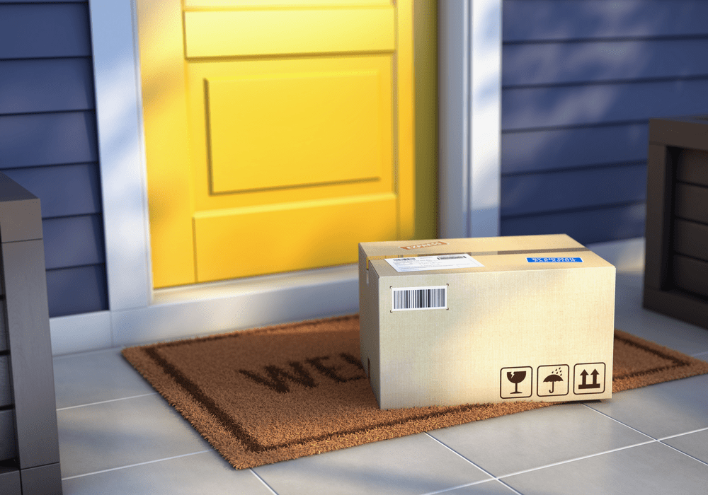 Gadget Discovery Club Box On Doorstep