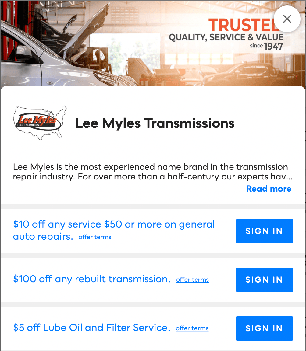 Lee Myles Transmissions Savvy Perks
