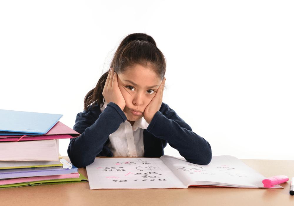 Thinkster Learning Girl Upset at School