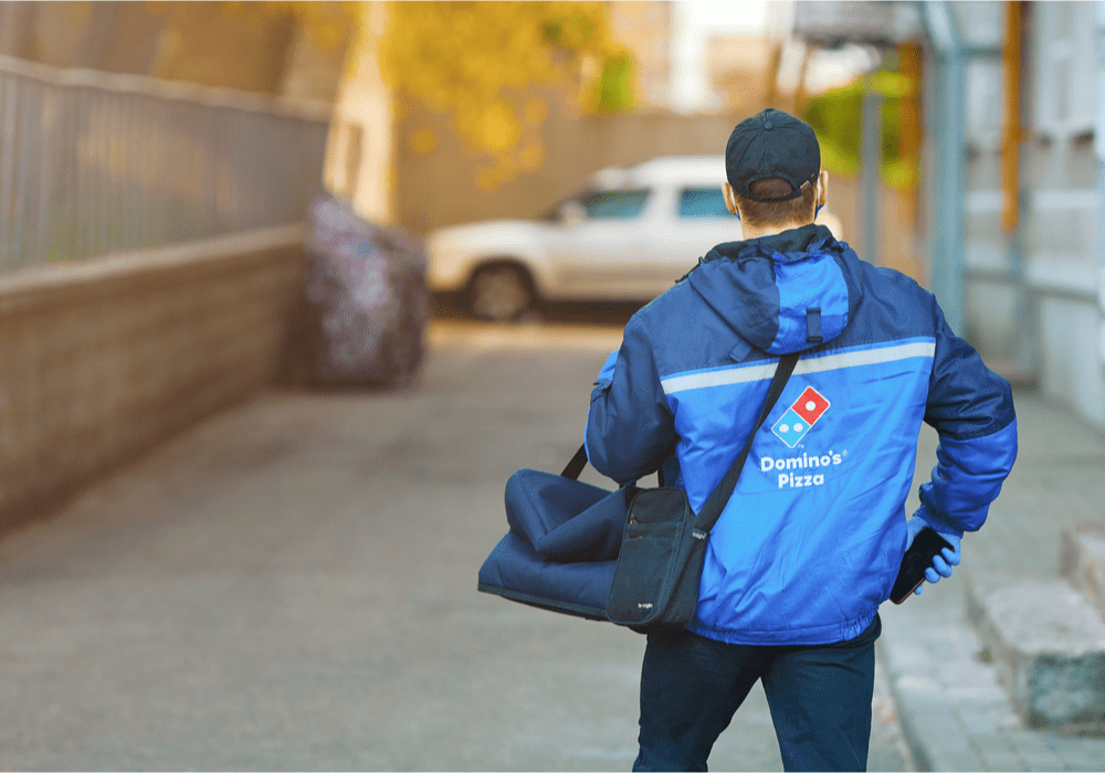 Domino's Delivery Man