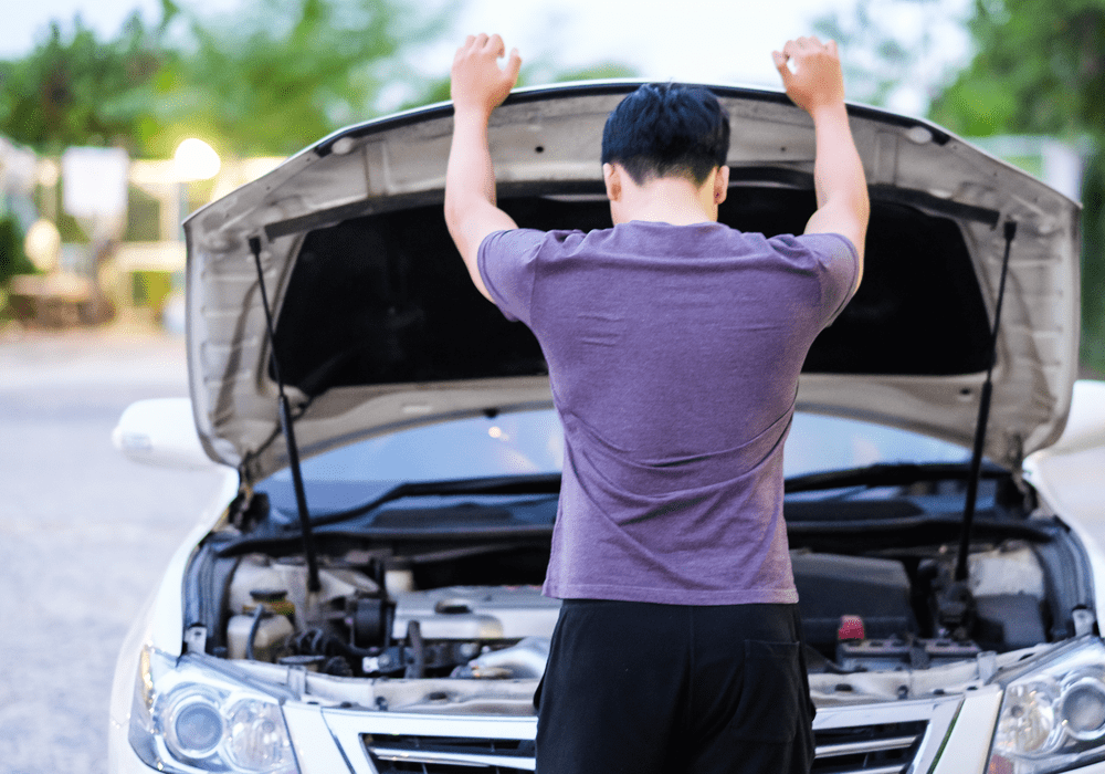 Your Mechanic Man With Broken Down Car